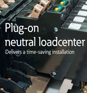 Eaton Plug On Neutral Loadcenter